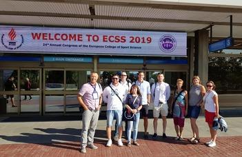 Nemzetközi Sporttudományi Konferencián vett részt az ELTE PPK Sporttudományi Intézet-Szombathely