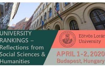 ELMARAD! Nemzetközi konferencia az egyetemi rangsorokról