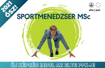 Sportmenedzser mesterszakot indít 2021 őszén az ELTE PPK