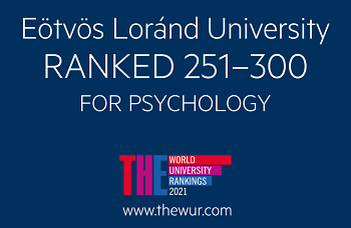 ELTE PPK's psychology training is among the top 300 in the world