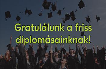 Gratulálunk a friss diplomásainknak!