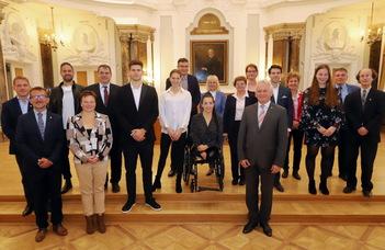 Olimpikonjait köszöntötte az ELTE