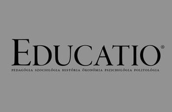 Tanulási utak, pályautak - az Educatio folyóirat műhelykonferenciája