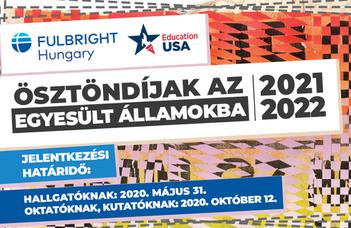 Fulbright ösztöndíjak az Egyesült Államokba 2021-2022